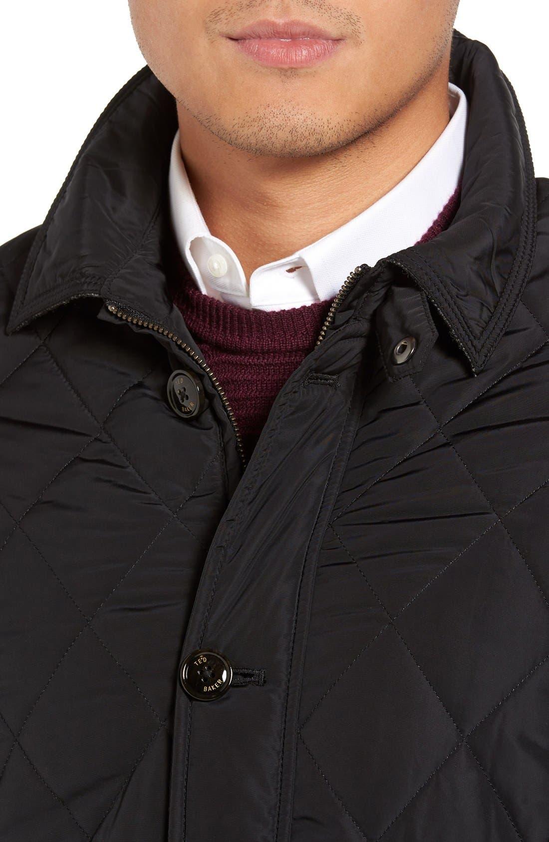 Alternate Image 4  - Ted Baker London Quilted Jacket