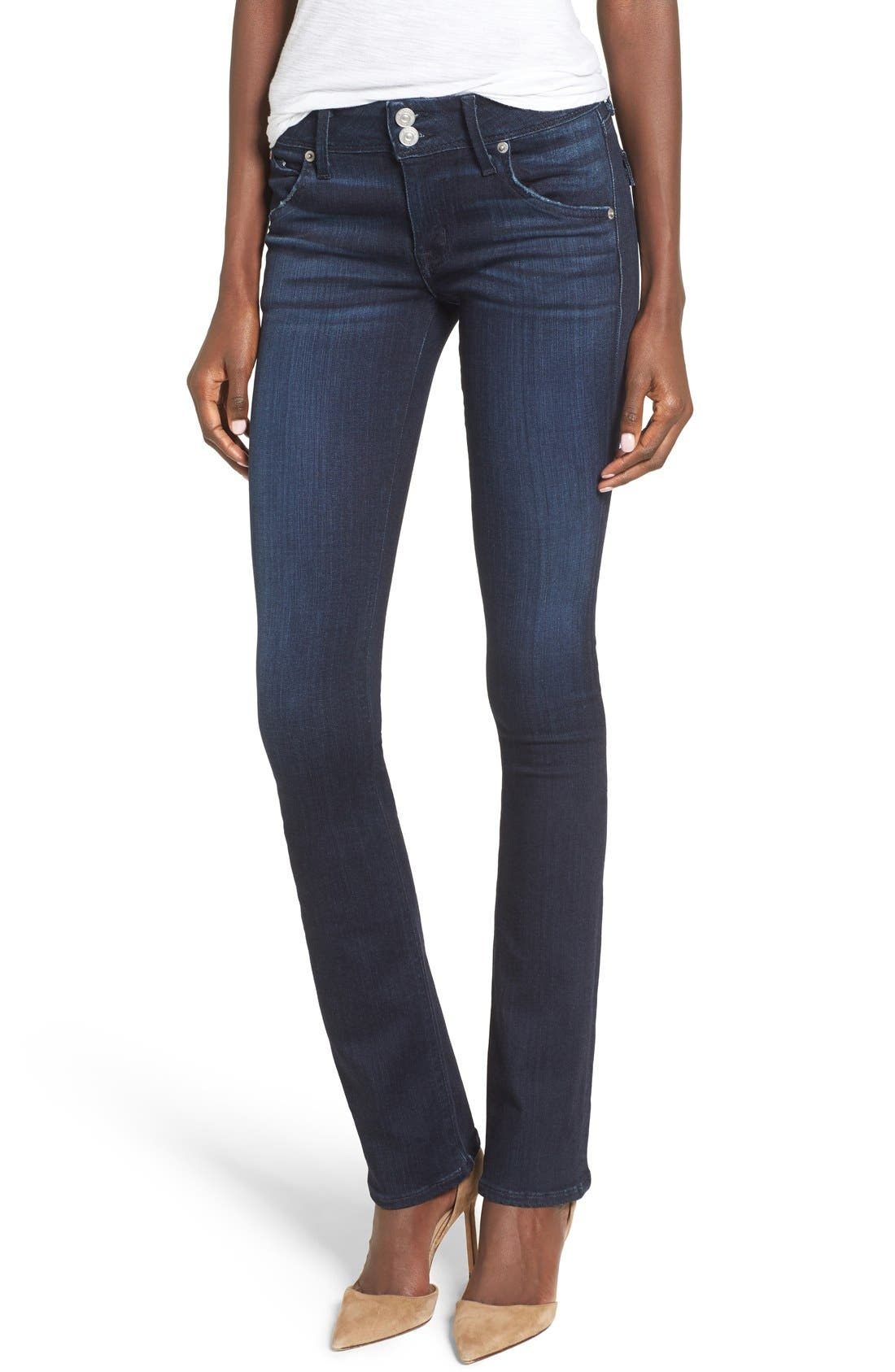 Alternate Image 1 Selected - Hudson Jeans 'Beth' Baby Bootcut Jeans