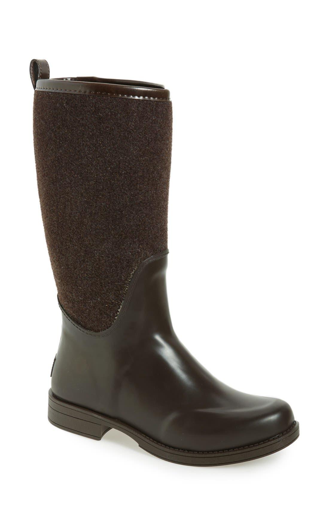 Alternate Image 1 Selected - UGG® Reignfall Waterproof Rain Boot (Women)