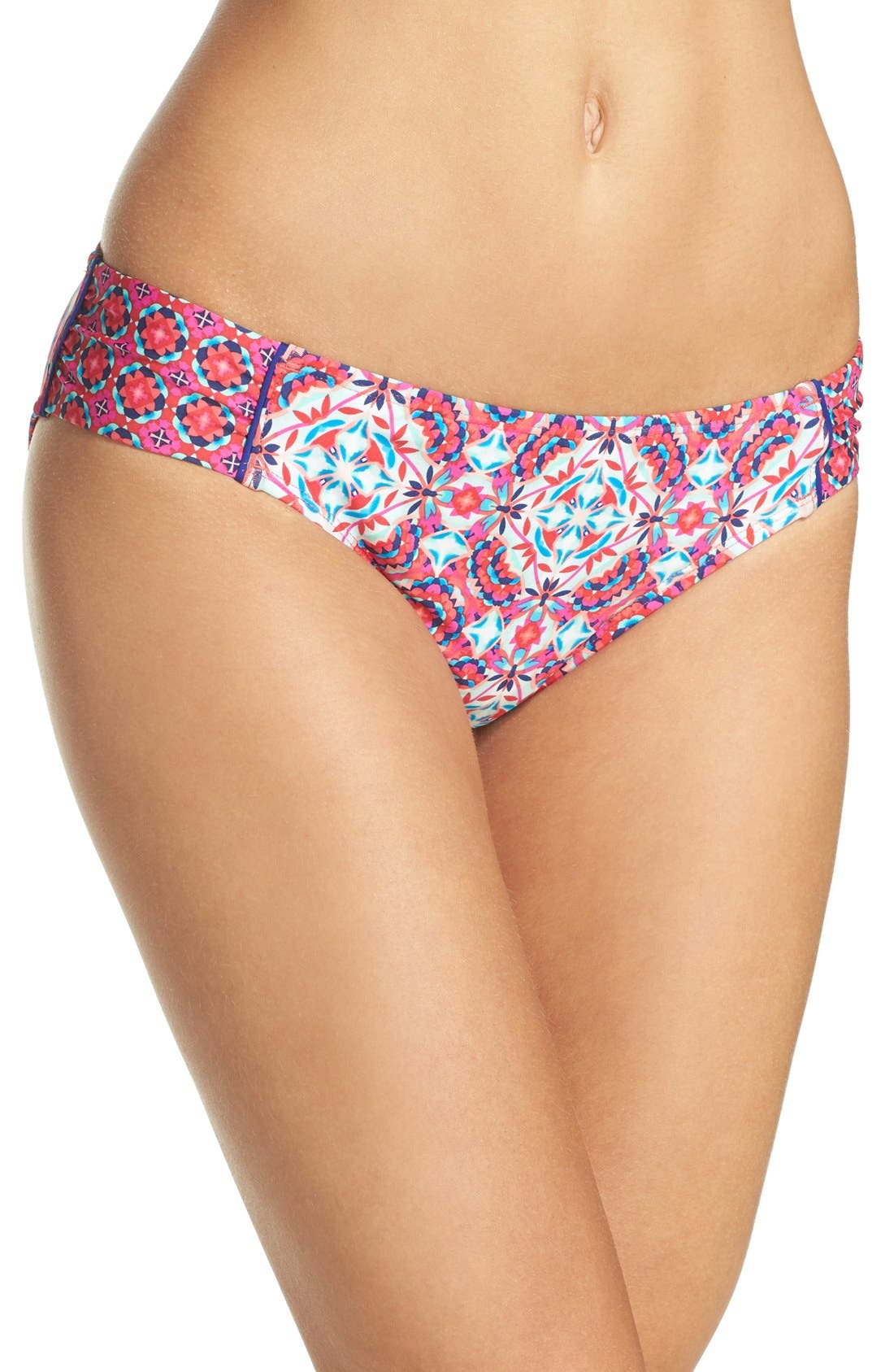 Laundry by Shelli Segal Mayan Escape Side Tab Hipster Bottoms