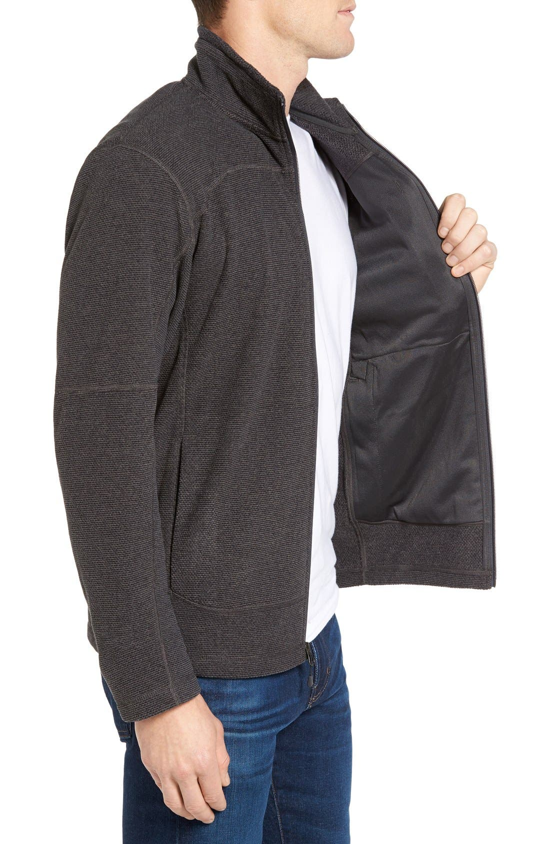 Alternate Image 3  - The North Face 'Texture Cap Rock' Fleece Jacket