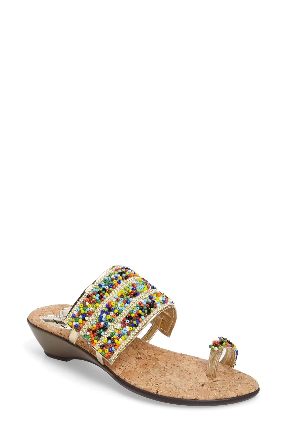 LOVE AND LIBERTY Sammy Toe Ring Sandal