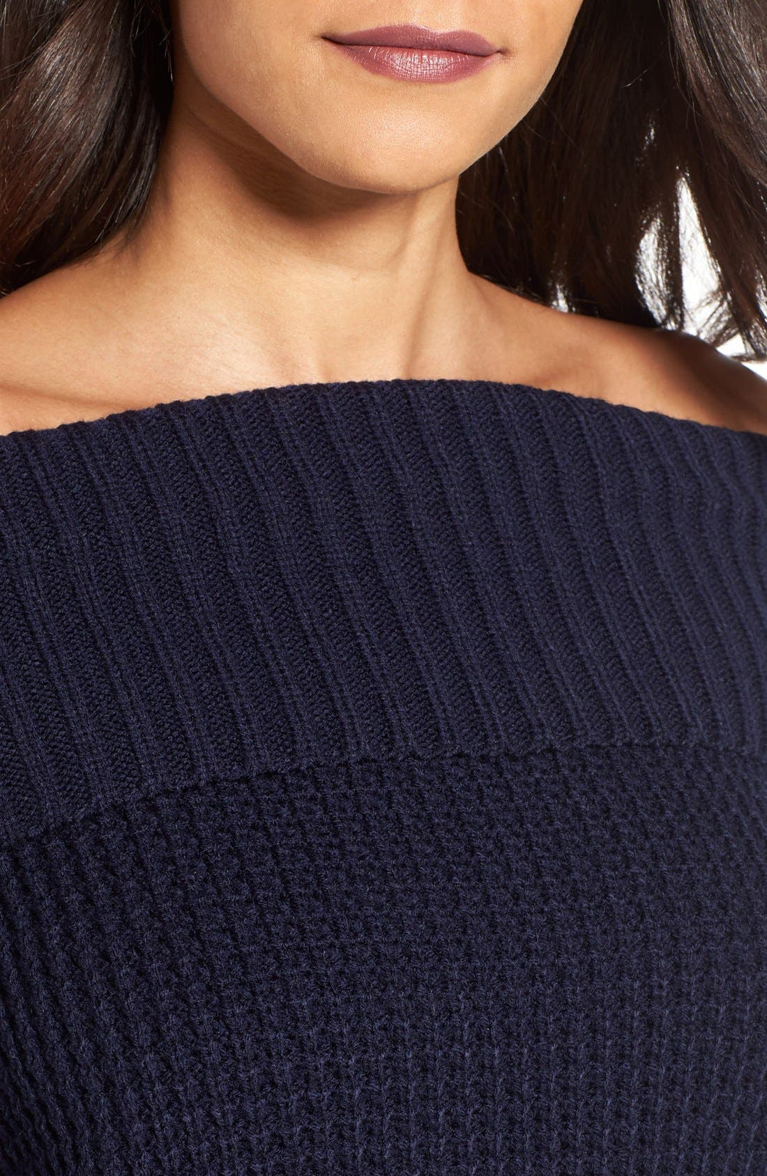 Alternate Image 4  - BP. Off the Shoulder Sweater