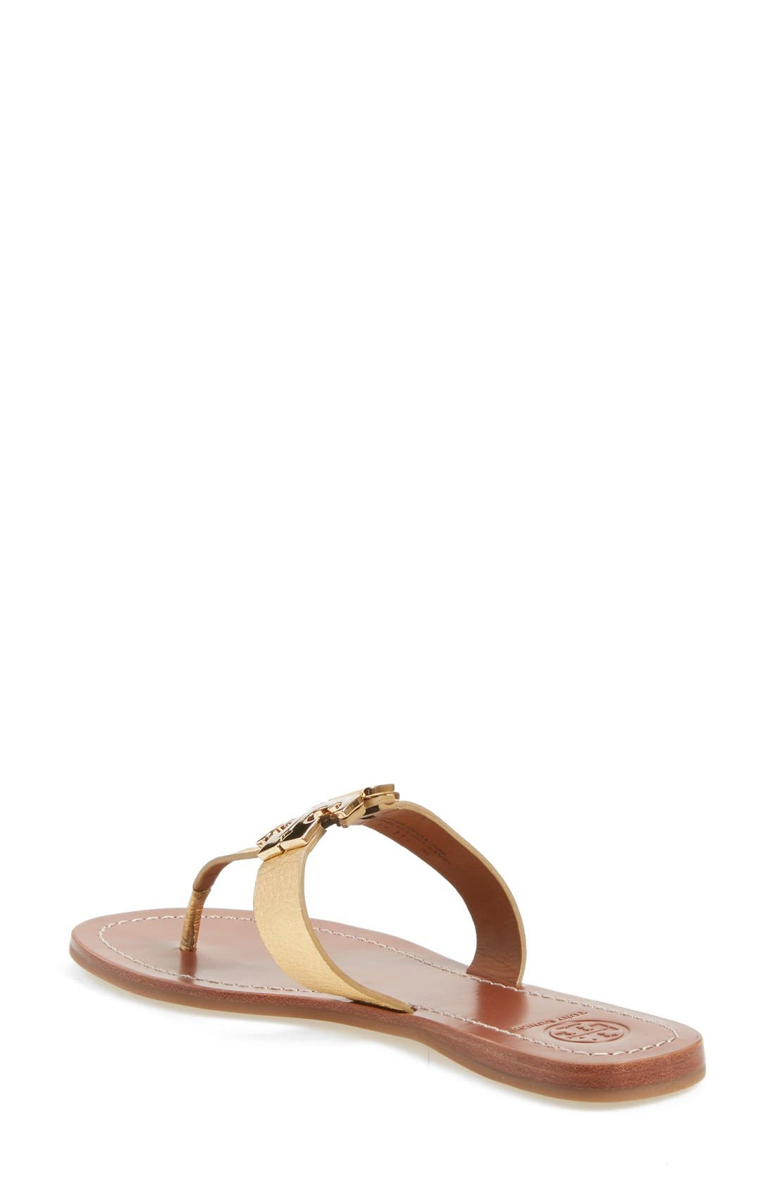 Alternate Image 2  - Tory Burch Moore Logo Sandal (Women)