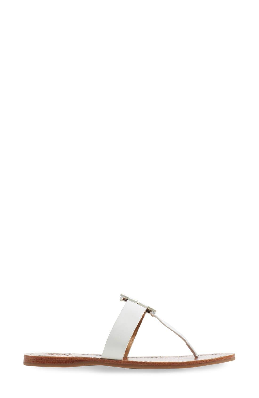 Alternate Image 4  - Tory Burch Moore Logo Sandal (Women)