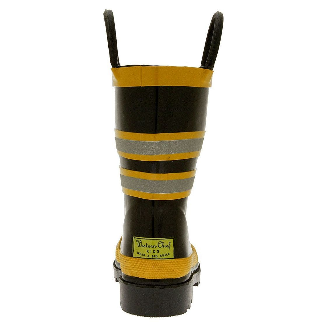 Alternate Image 4  - Western Chief 'Fireman' Rain Boot (Walker, Toddler, Little Kid & Big Kid)