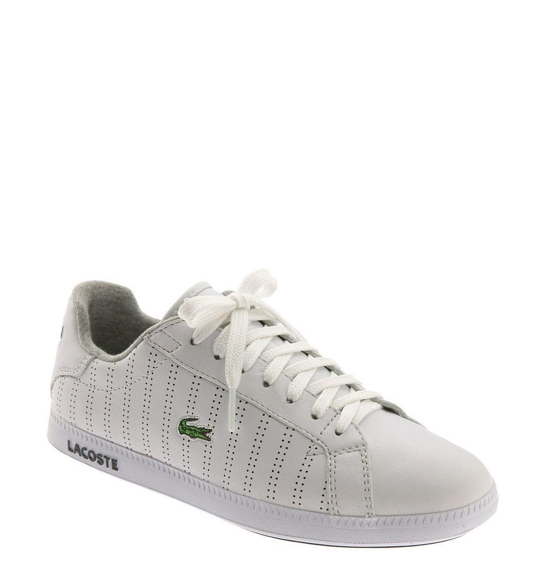 Alternate Image 1 Selected - Lacoste 'Graduate' Pinstripe Sneaker