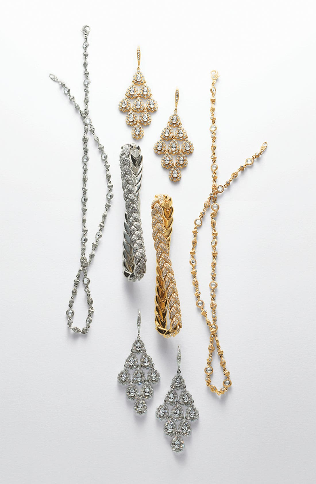 Alternate Image 2  - Nadri Woven Pavé Crystal Bracelet