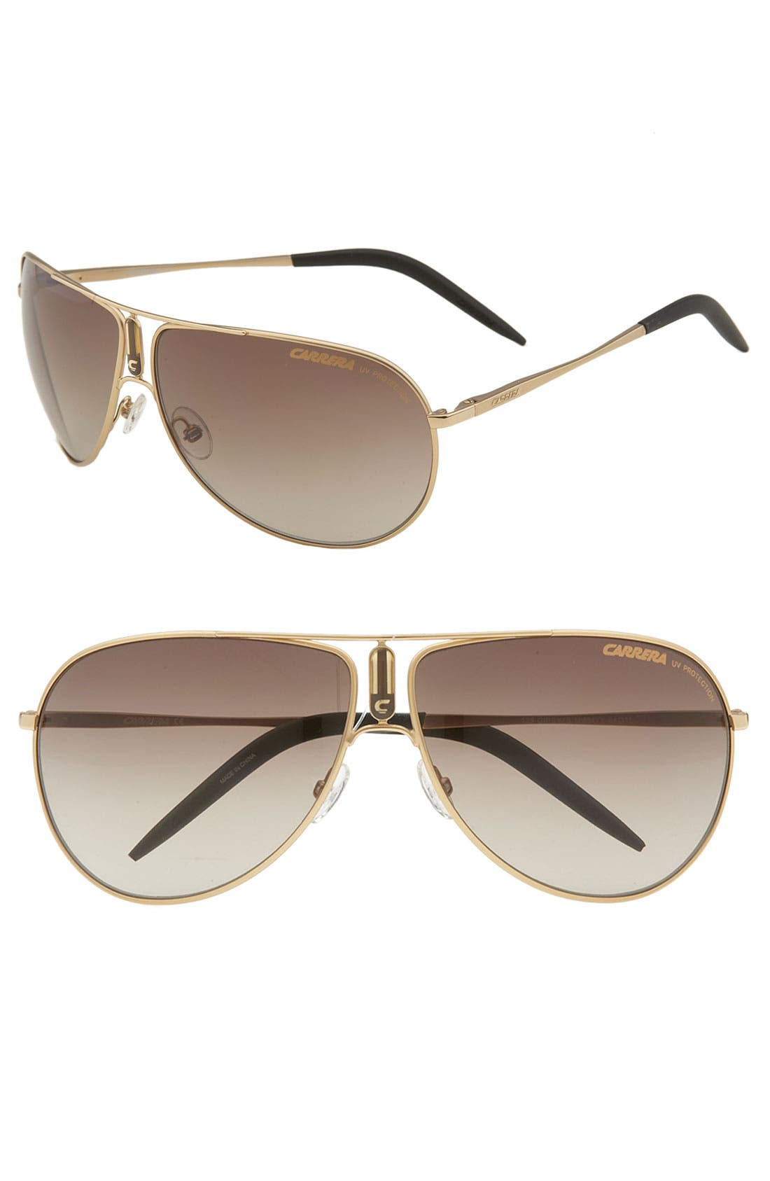 Alternate Image 1 Selected - Carrera Eyewear 'Gypsy' Metal Aviator Sunglasses