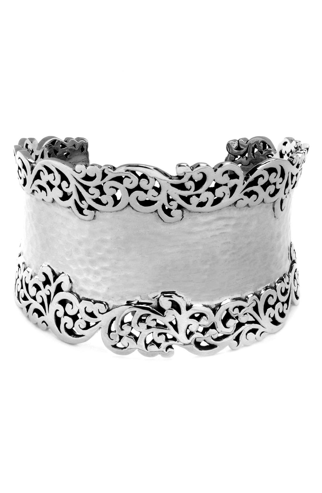 Alternate Image 1 Selected - Lois Hill Concave Cuff Bracelet with Cutout Detail
