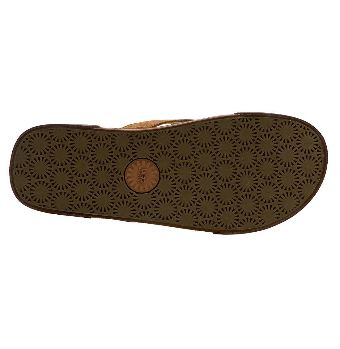 Alternate Image 4  - UGG® Australia 'Bennison' Flip Flop (Men)