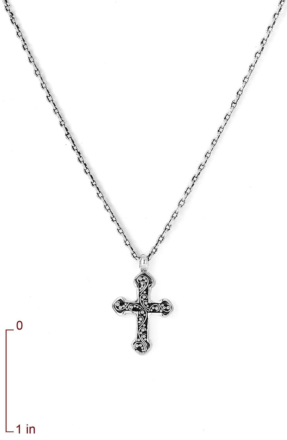 Alternate Image 2  - Lois Hill Reversible Cross Necklace