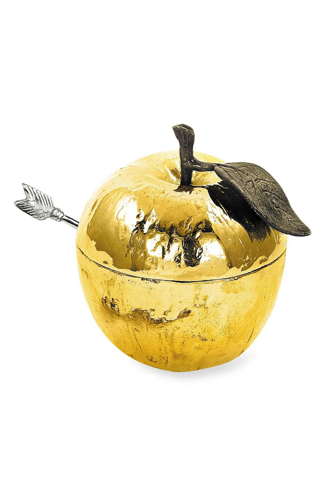 Alternate Image 1 Selected - Michael Aram 'Apple' Honey Pot with Spoon