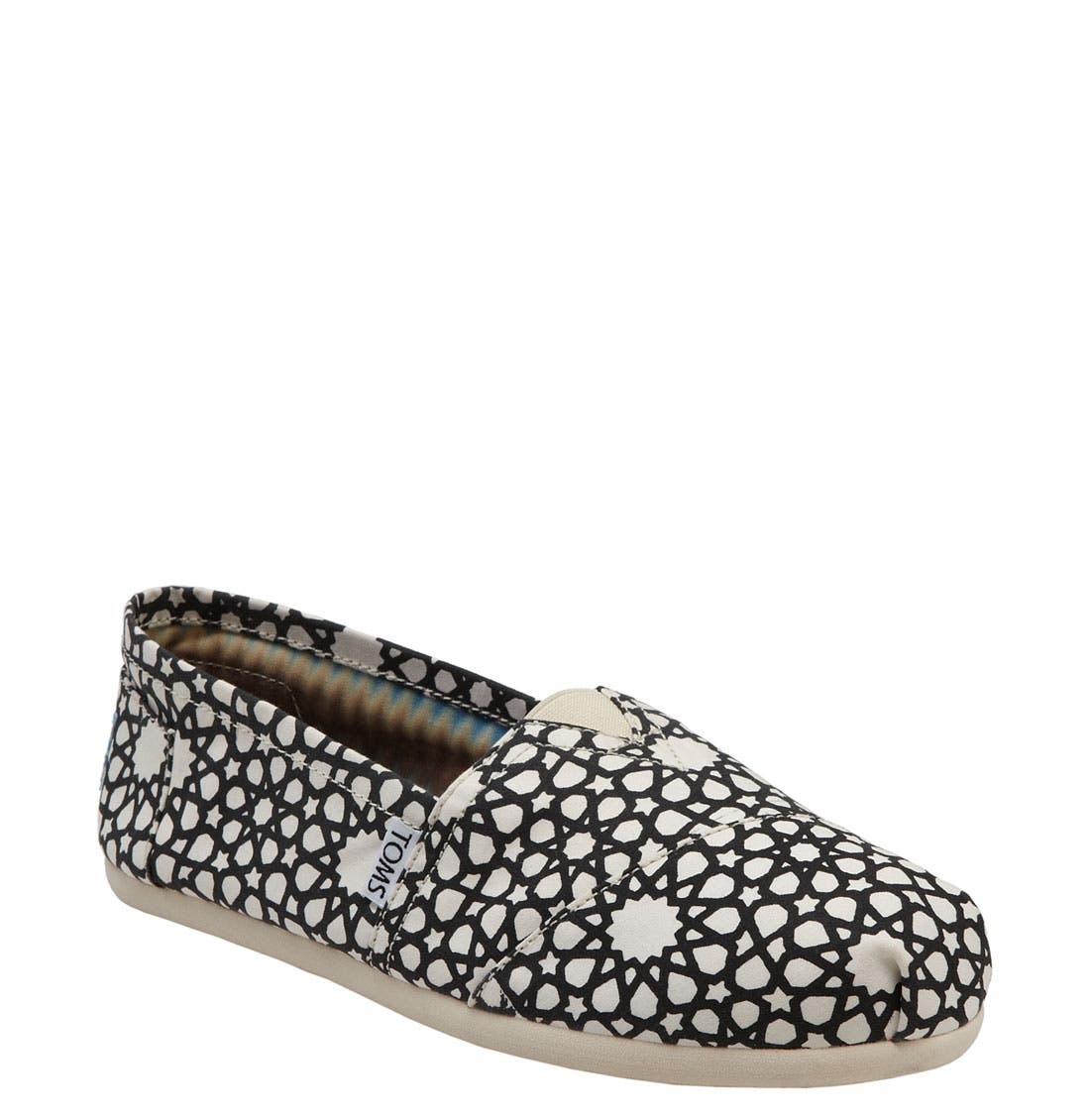 Alternate Image 1 Selected - TOMS 'Cultural Anthropology' Slip-On (Women)