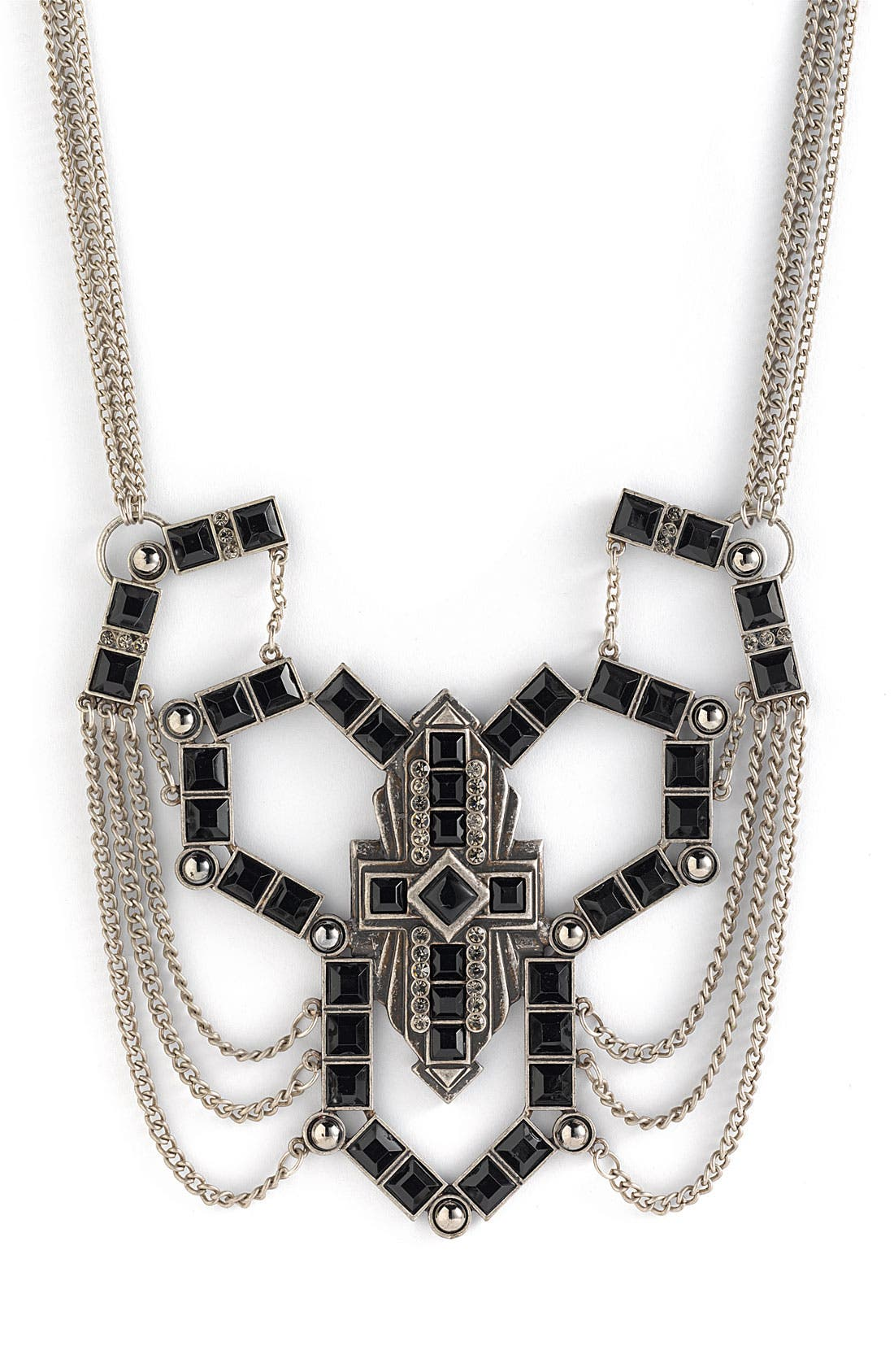 Main Image - Jewelry Fashions 'Deco' Statement Necklace