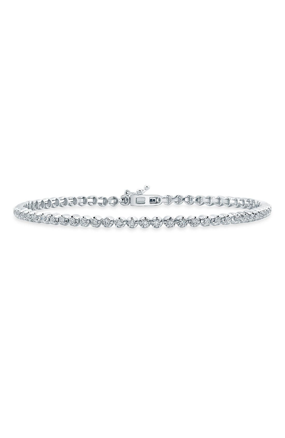 Alternate Image 1 Selected - Bony Levy Diamond Line Bracelet (Nordstrom Exclusive) (Limited Edition)