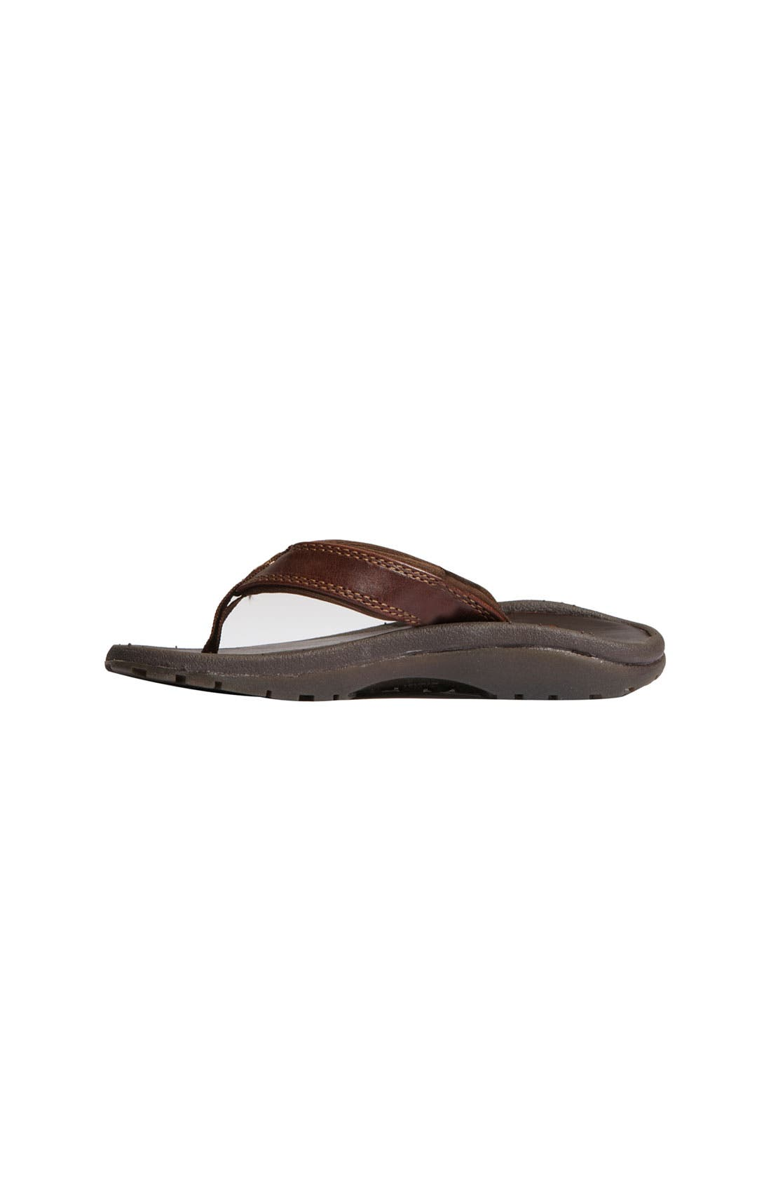 Alternate Image 2  - OluKai 'Ohana' Leather Sandal (Toddler, Little Kid & Big Kid)