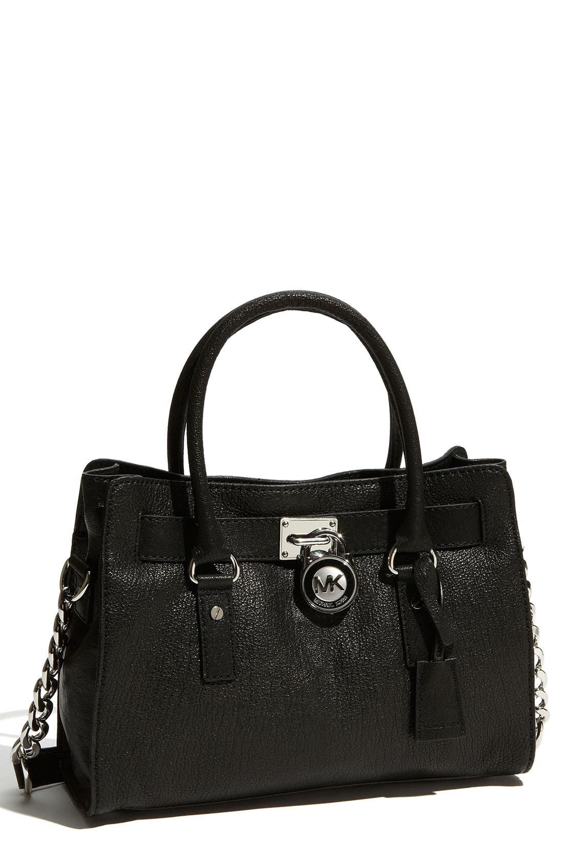 Alternate Image 1 Selected - MICHAEL Michael Kors 'Hamilton Chain' Leather Tote