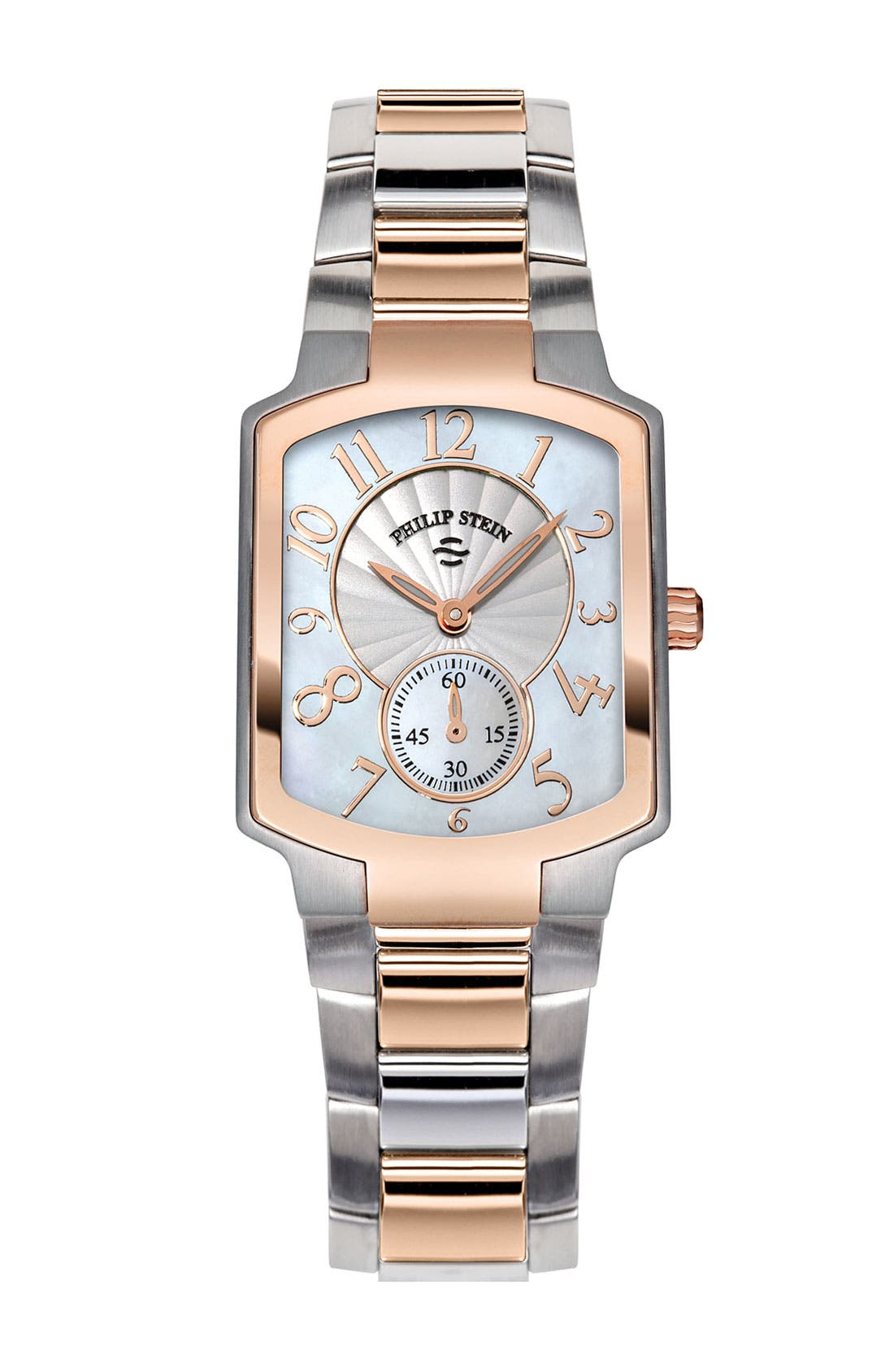 Alternate Image 1 Selected - Philip Stein® 'Classic' Small Two-Tone Customizable Watch