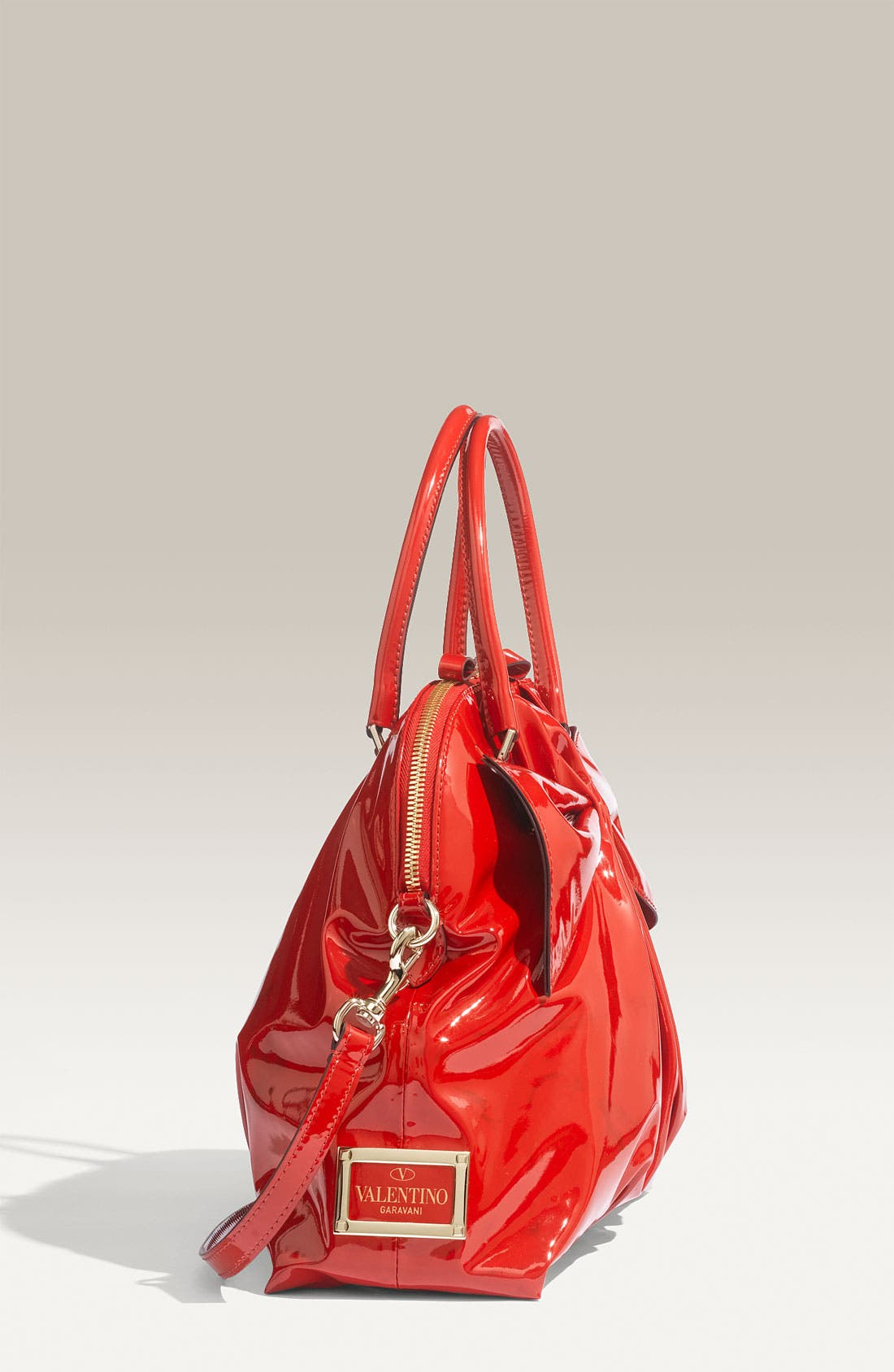 Alternate Image 2  - Valentino 'Bon Bon Dome Bow' Patent Leather Satchel