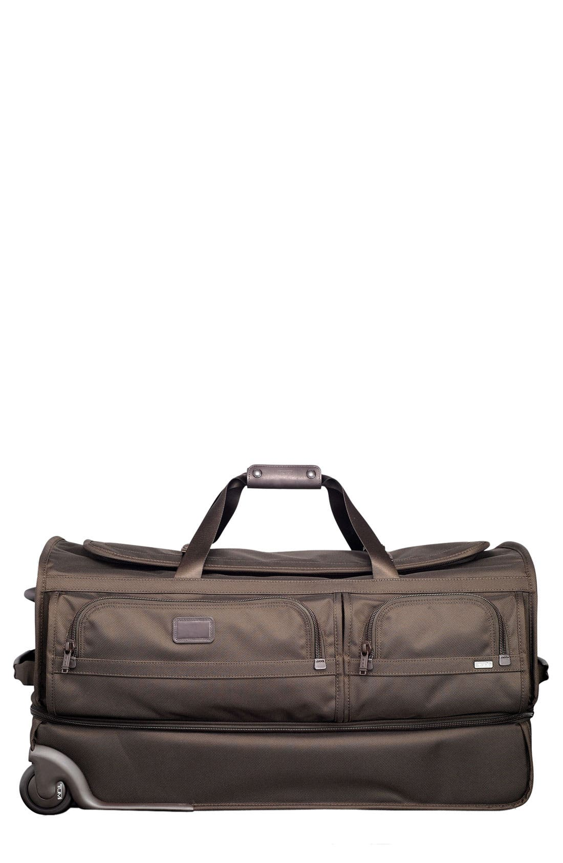 Alternate Image 1 Selected - Tumi 'Alpha - Large' Wheeled Split Duffel Bag