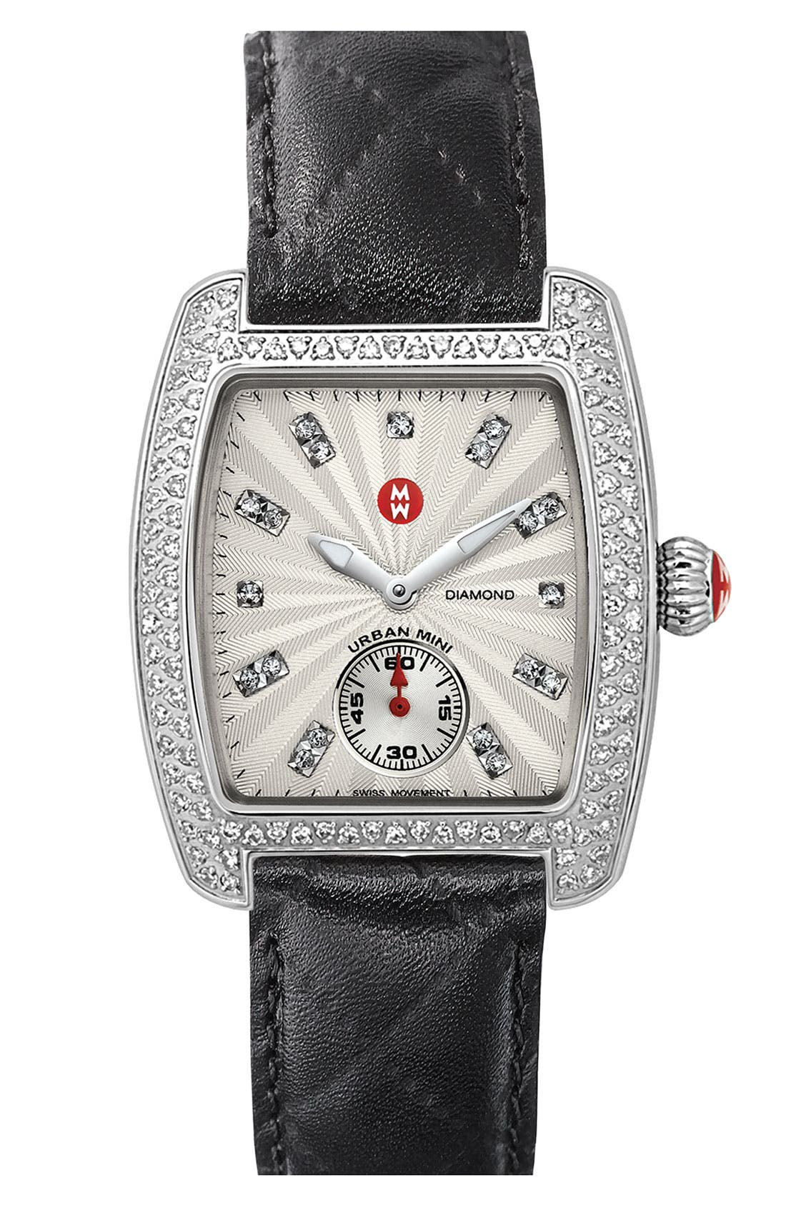 Alternate Image 1 Selected - MICHELE 'Urban Mini Diamond' Customizable Watch