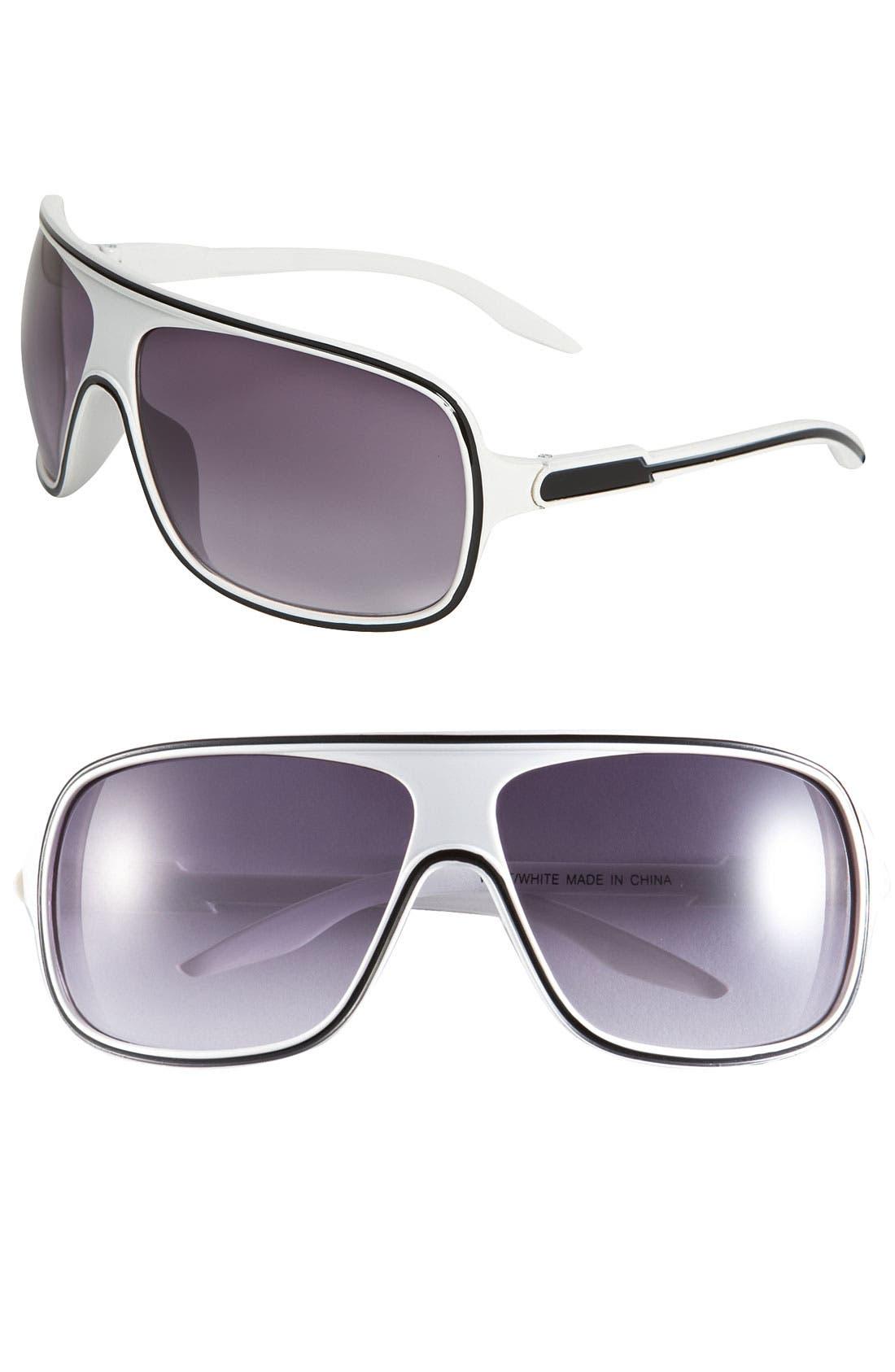 Main Image - KW 'West' Shield Sunglasses