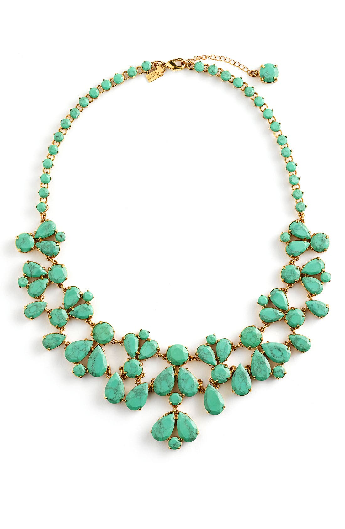 Main Image - kate spade new york 'fiorella' floral bib necklace