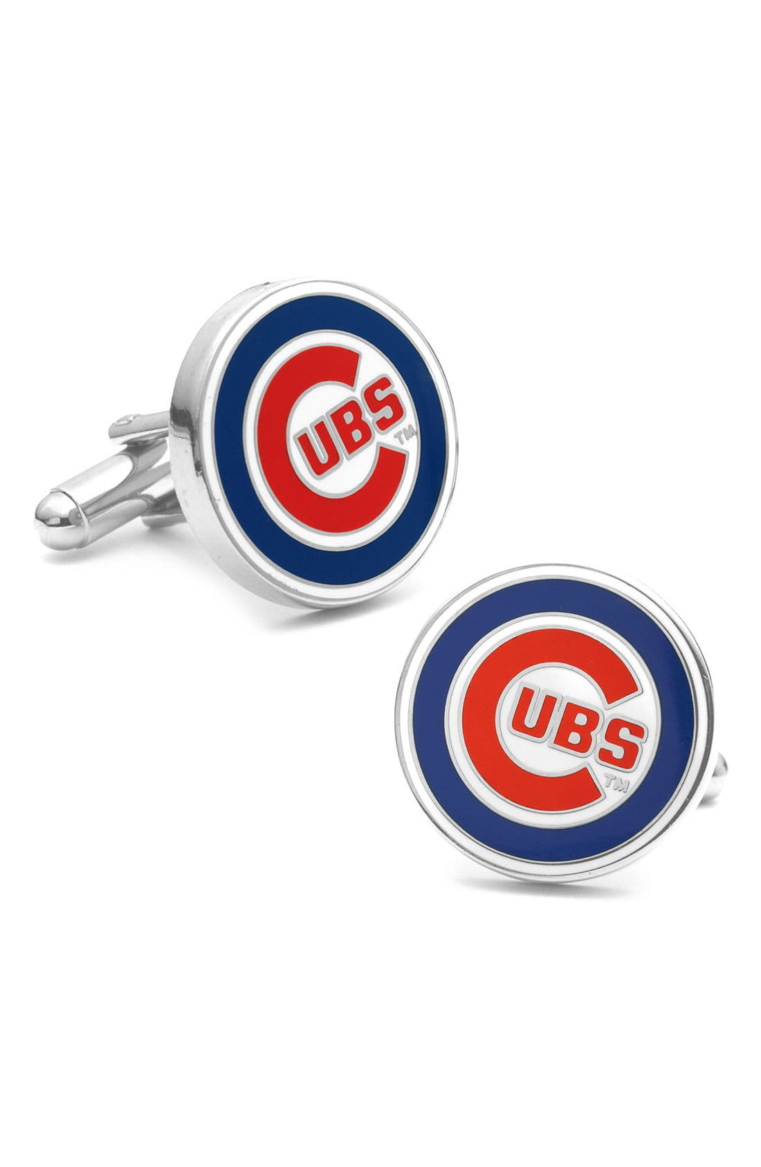 Alternate Image 1 Selected - Cufflinks, Inc. 'Chicago Cubs' Cuff Links