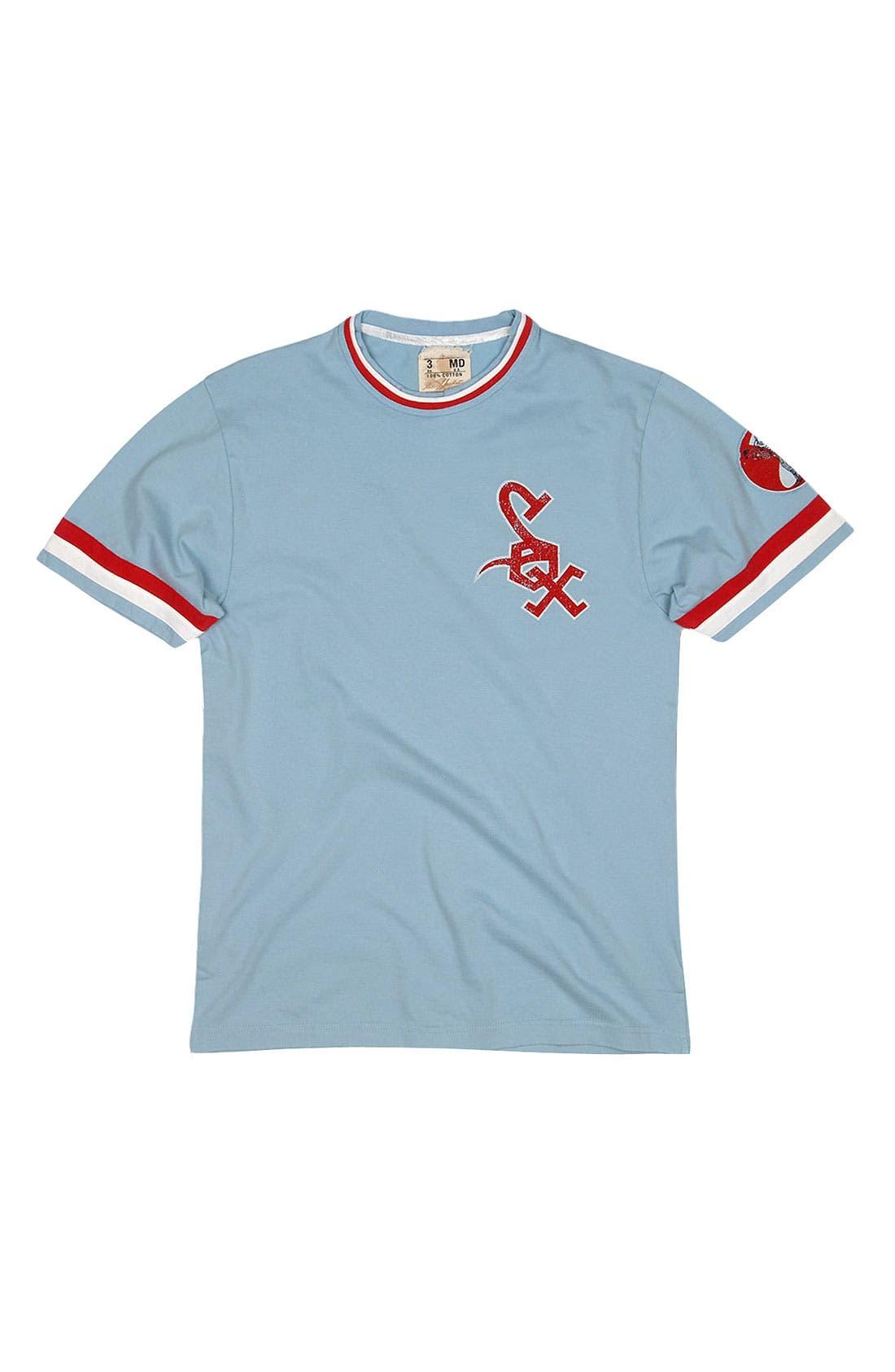 Alternate Image 4  - Red Jacket 'Chicago White Sox' Ringer Trim Fit T-Shirt (Men)