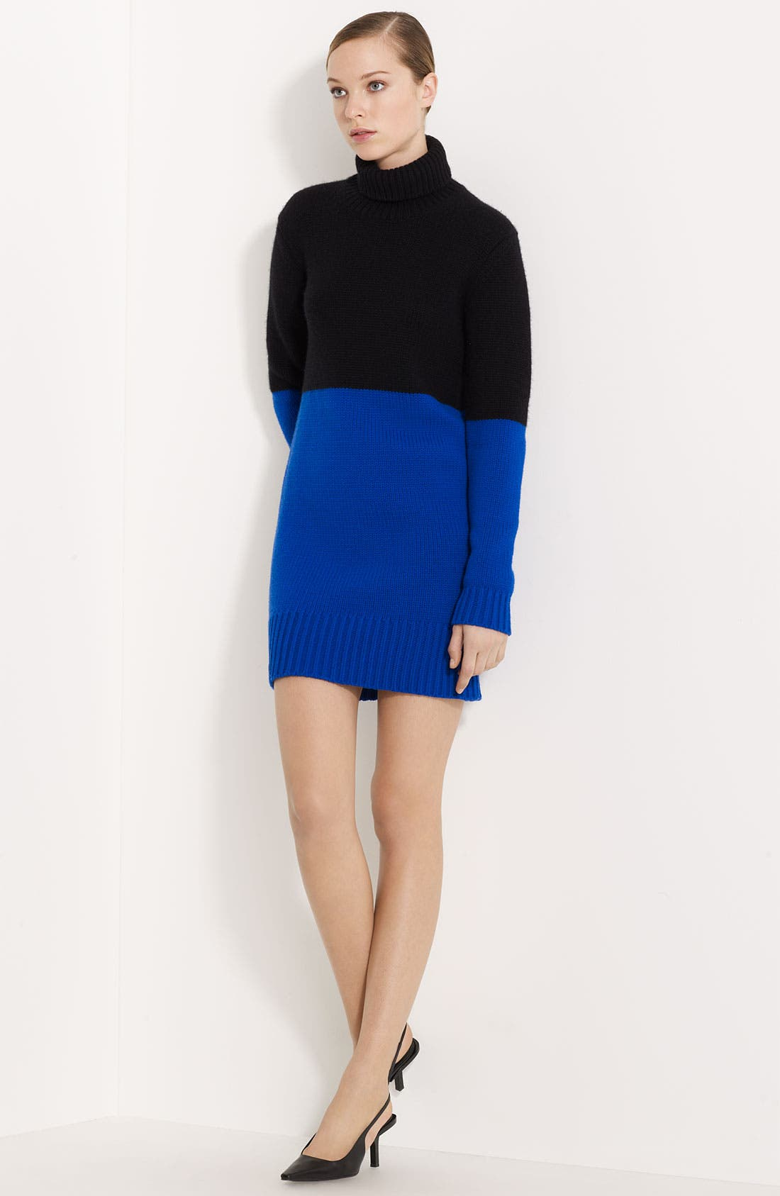Main Image - Michael Kors Colorblocked Cashmere Dress