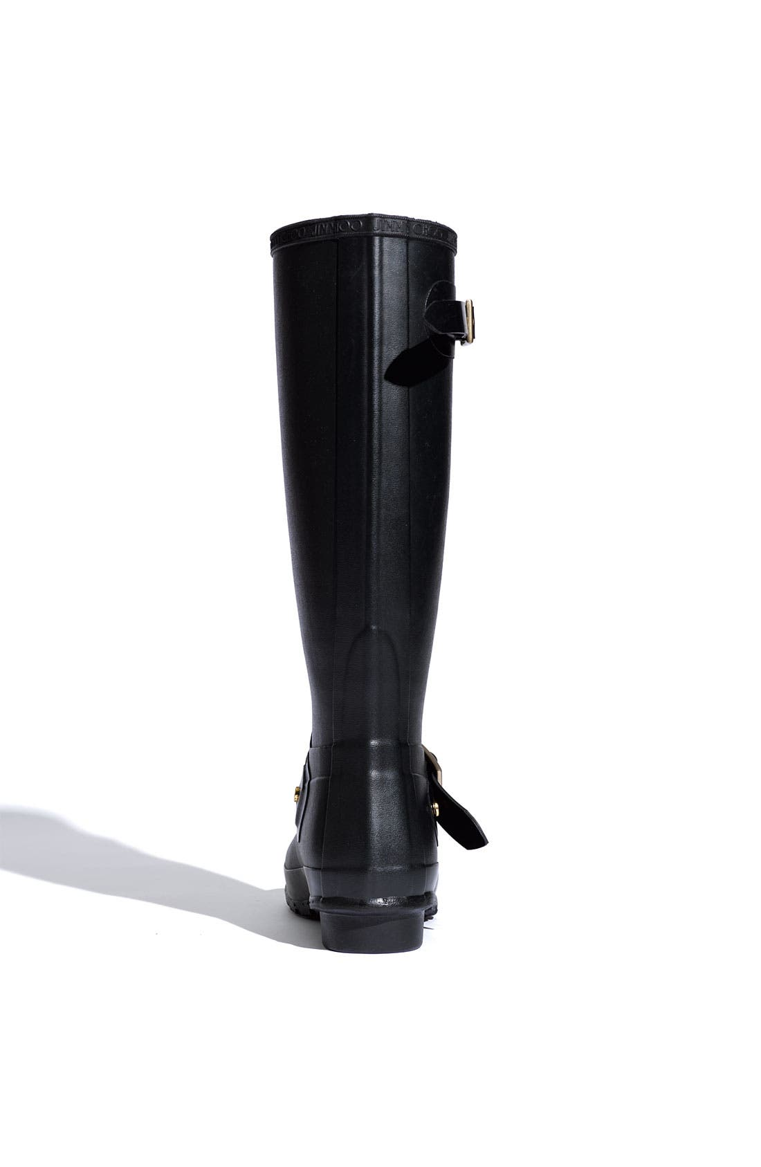 Alternate Image 3  - Hunter & Jimmy Choo 'Welly' Rubber Rain Boot