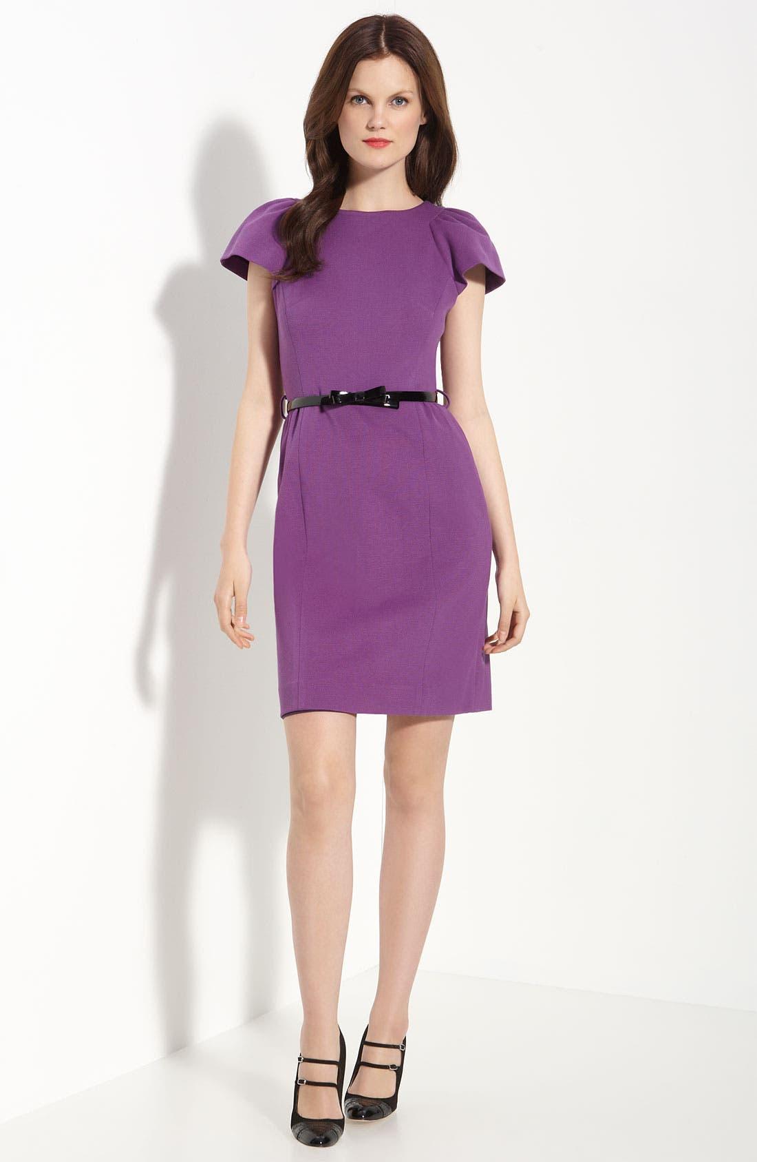 Main Image - Milly 'Addison' Ponte Knit Dress