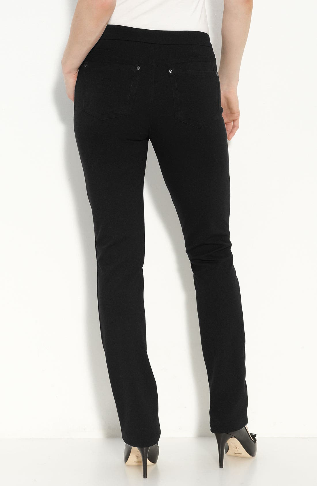 Alternate Image 2  - NYDJ 'Samantha' Stretch Ponte Knit Pants