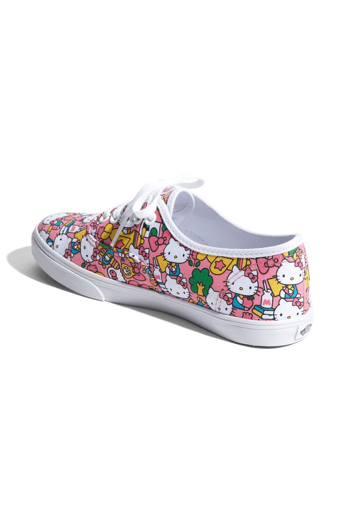 Alternate Image 2  - Vans 'Lo Pro - Hello Kitty®' Sneaker (Women) (Limited Edition)