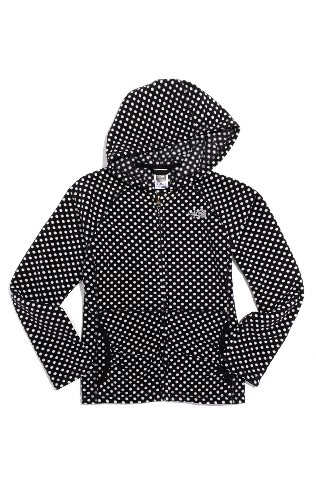 Alternate Image 1 Selected - The North Face 'Dottie Glacier' Hoodie (Big Girls)
