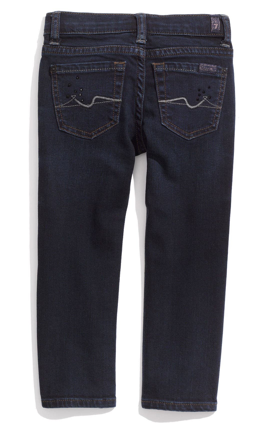 Alternate Image 1 Selected - 7 For All Mankind® 'Roxanne' Jeans (Toddler)