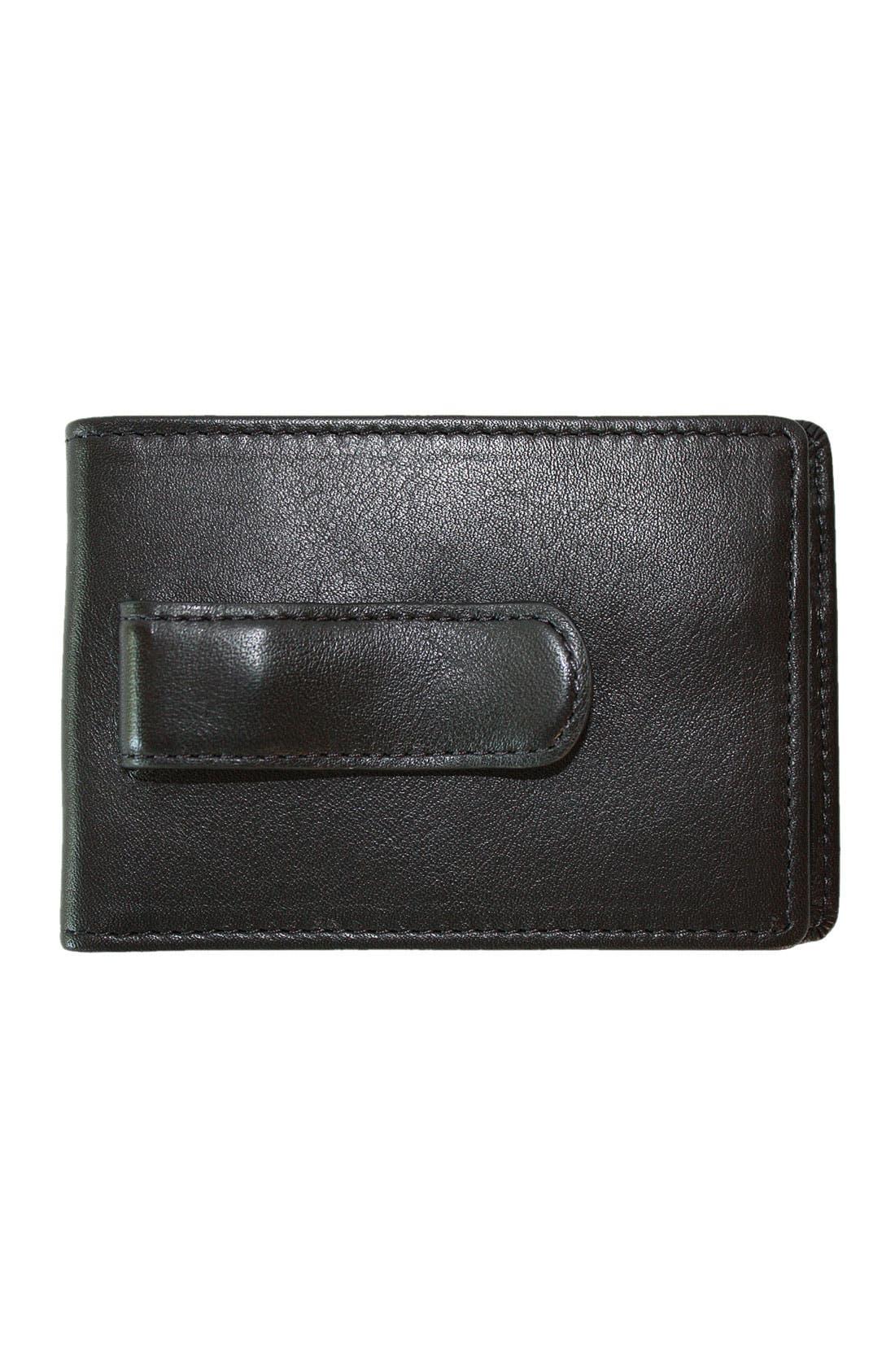 Alternate Image 2  - Boconi Leather Money Clip Wallet