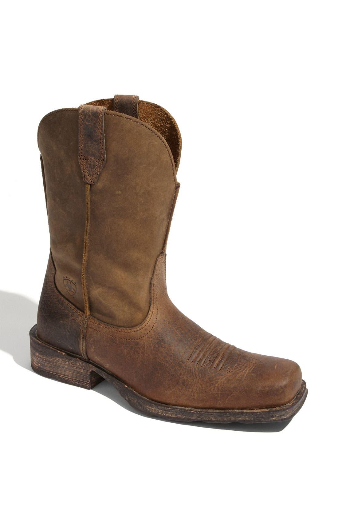 Alternate Image 1 Selected - Ariat Rambler Boot (Men)