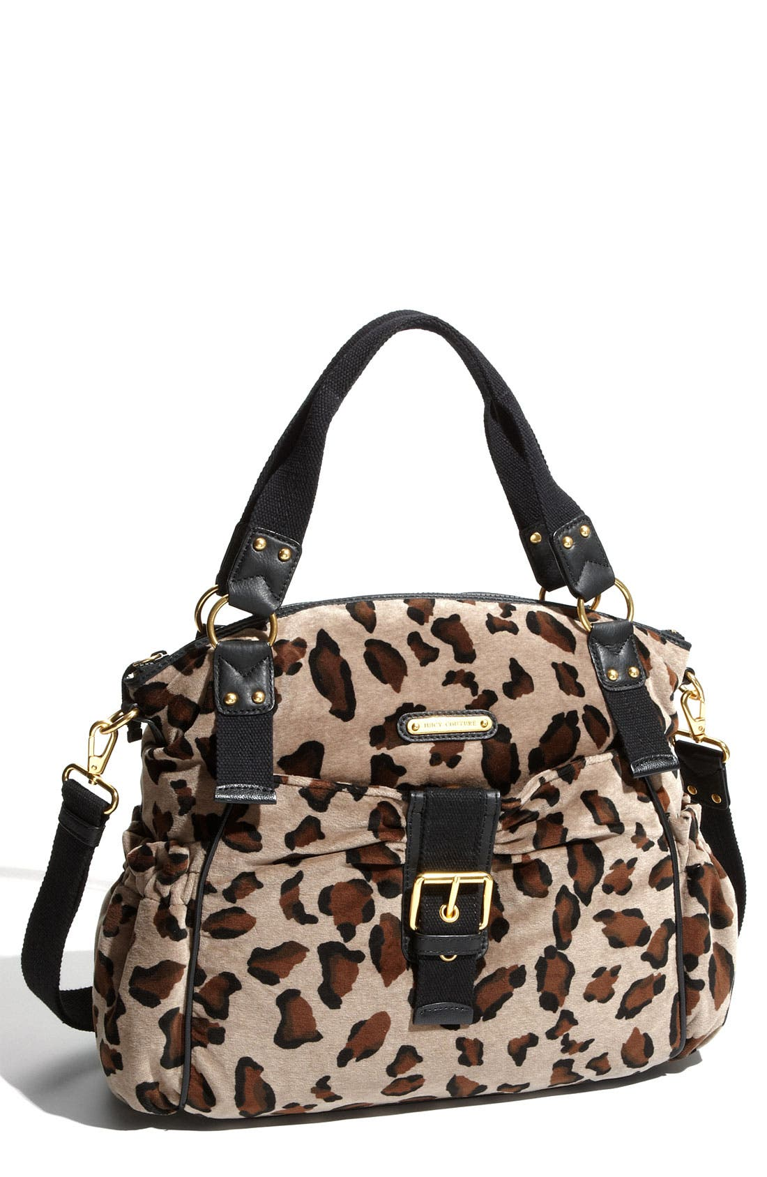 Main Image - Juicy Couture Animal Print Shoulder Bag