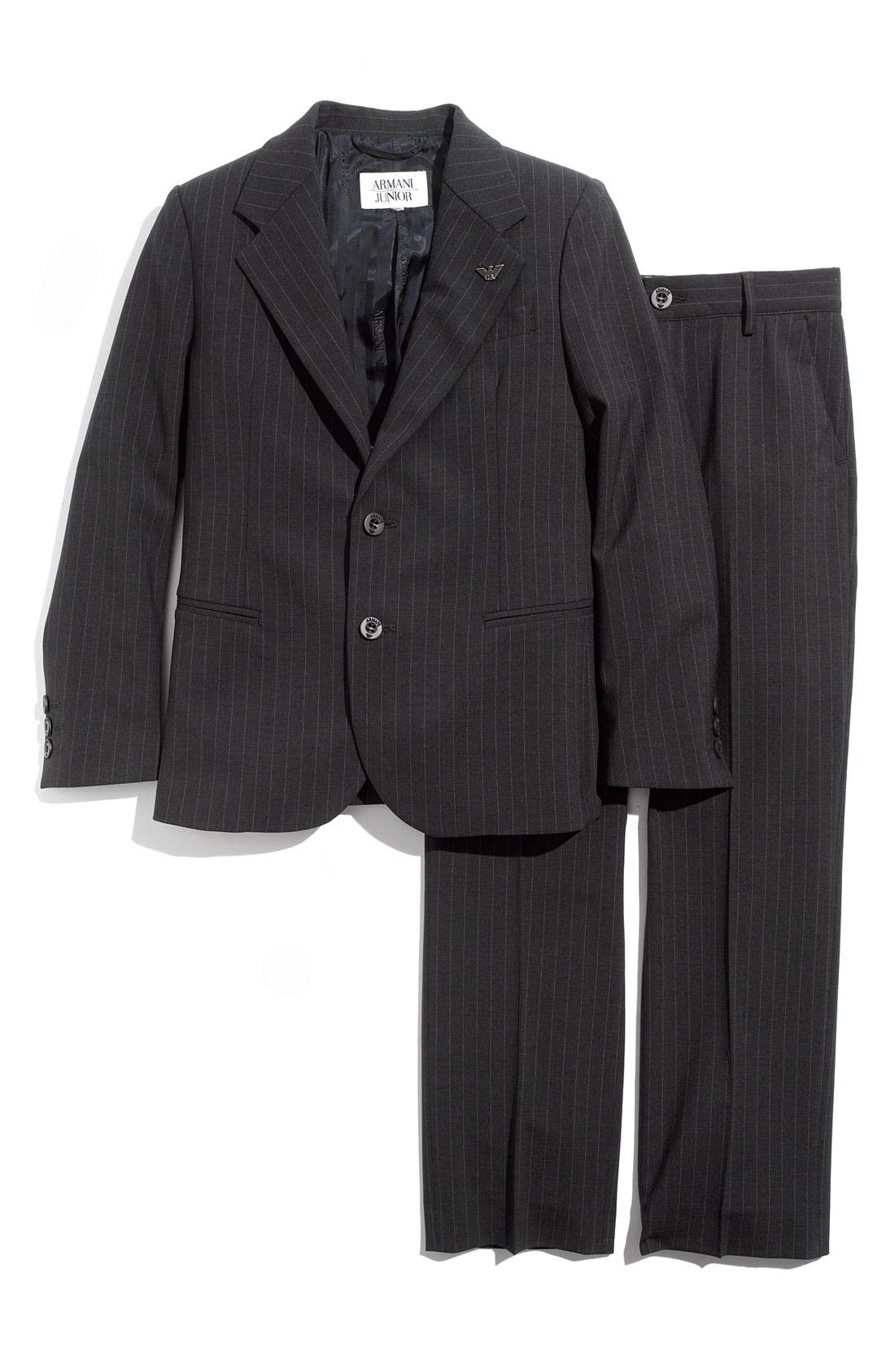 Alternate Image 1 Selected - Armani Junior Two Piece Suit (Big Boys)