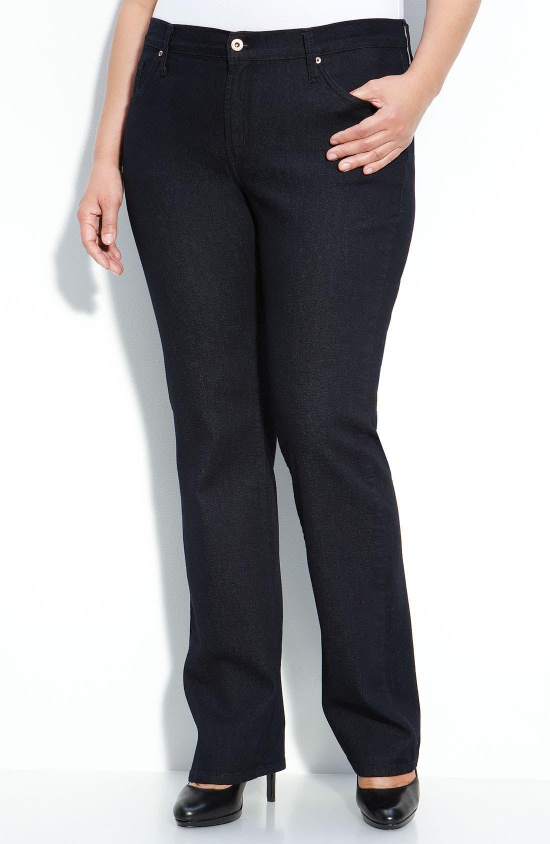 Main Image - James Jeans Straight Leg Jeans (Seduction D) (Plus)