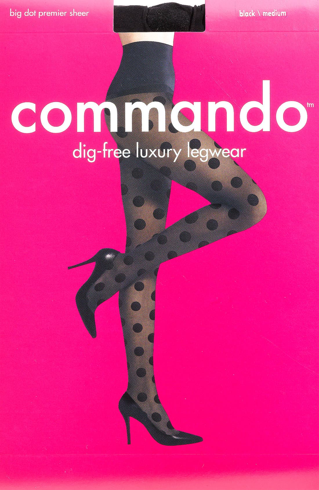 Alternate Image 2  - Commando 'Big Dot' Sheer Tights