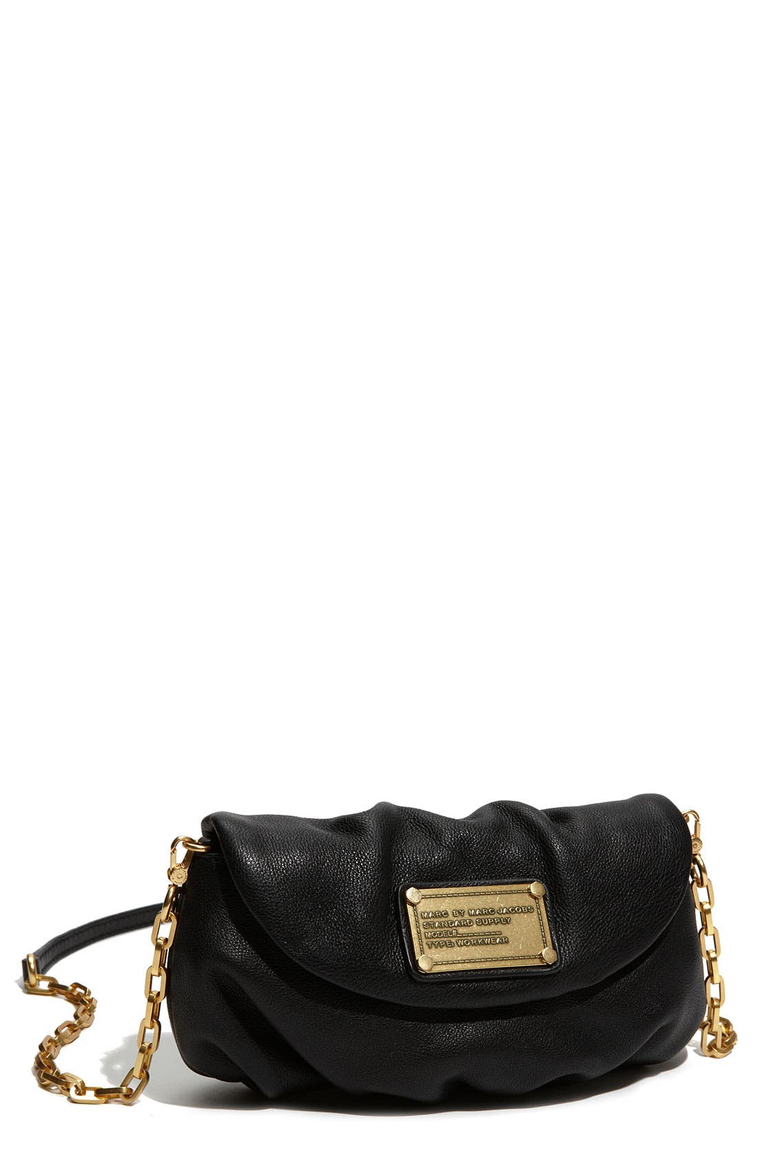 Main Image - MARC BY MARC JACOBS 'Classic Q - Karlie' Crossbody Flap Bag
