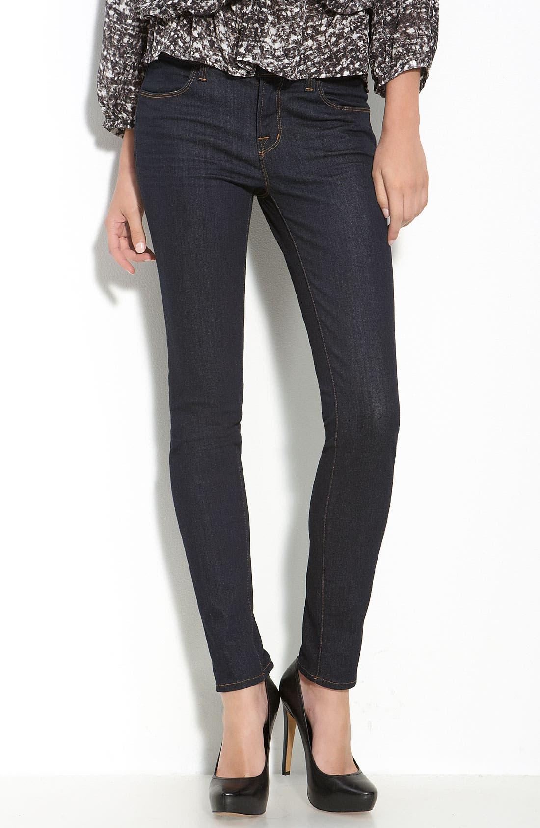 Alternate Image 1 Selected - J Brand Skinny Stretch Jeans (Starless Wash)