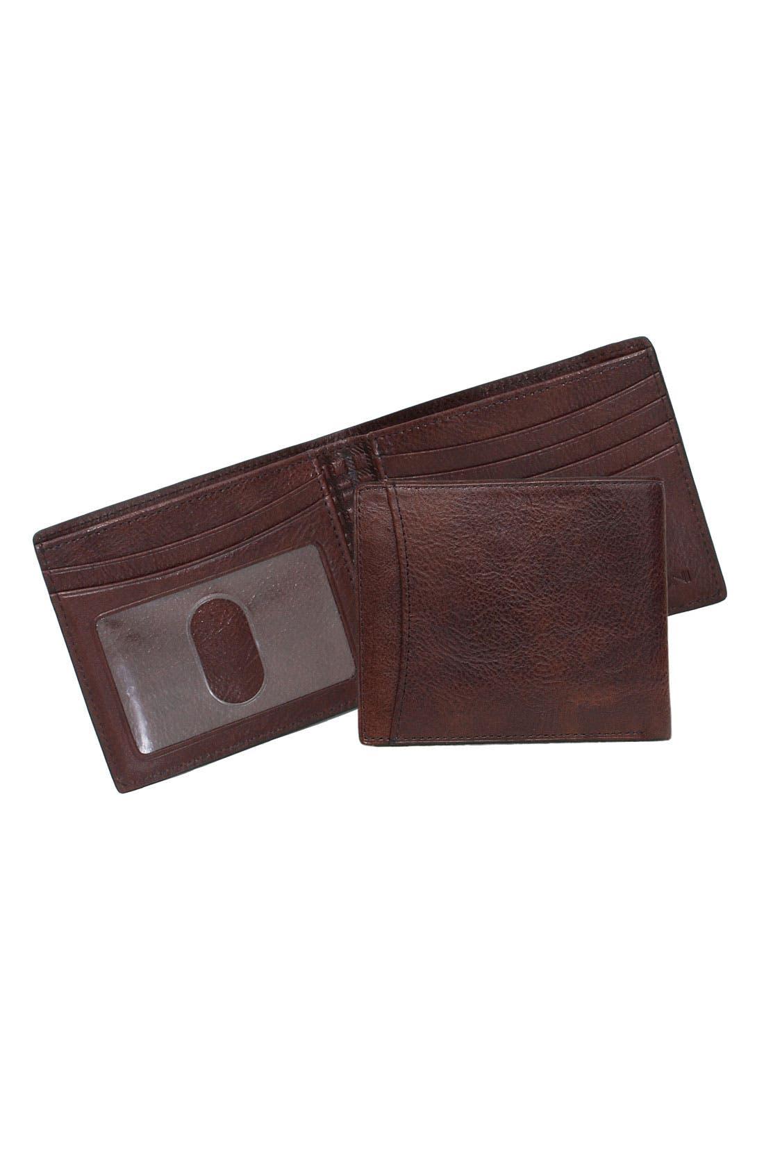 Main Image - Boconi 'Rinaldo - Slim' Bifold Wallet