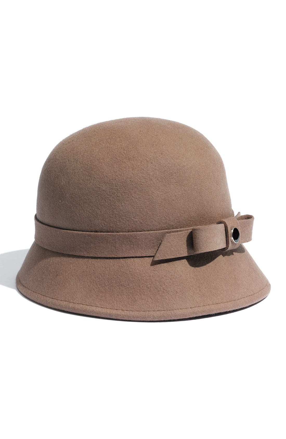 Main Image - Nordstrom Bow Trimmed Cloche