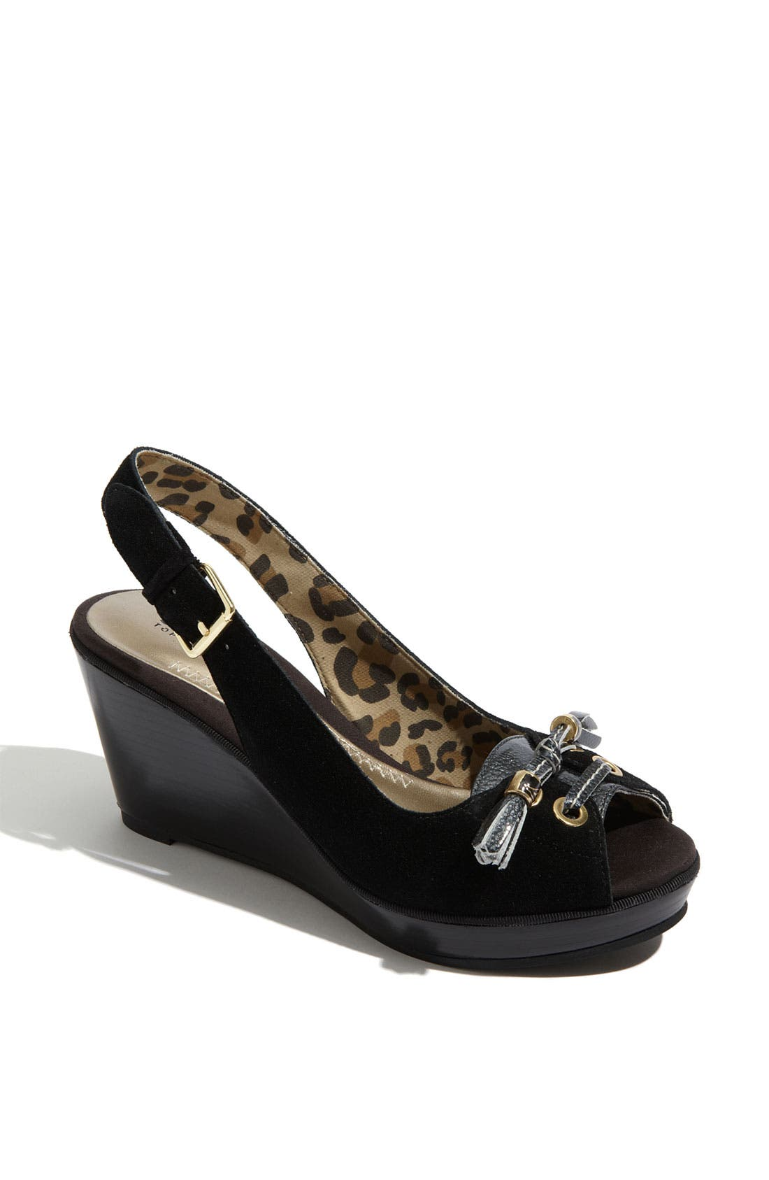 Alternate Image 1 Selected - Sperry Top-Sider® 'Cypress' Wedge Slingback