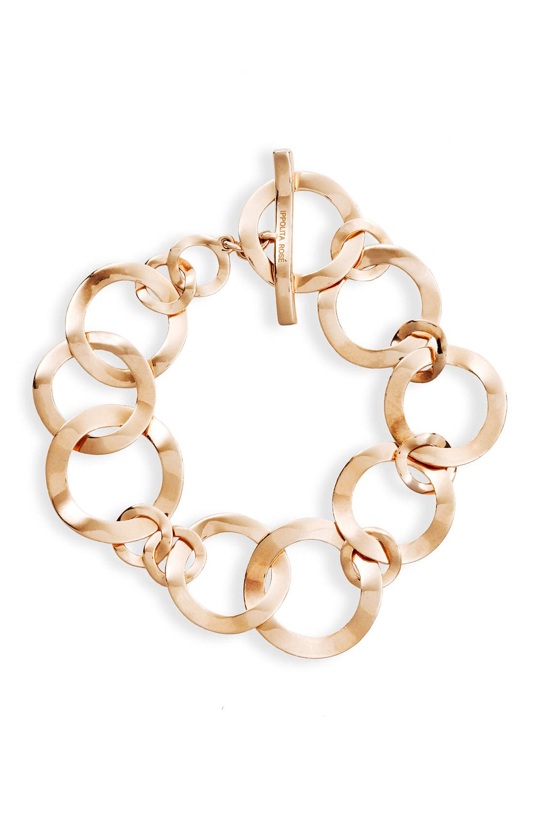 Main Image - Ippolita 'Lite Links' Rosé Small Flat Link Bracelet