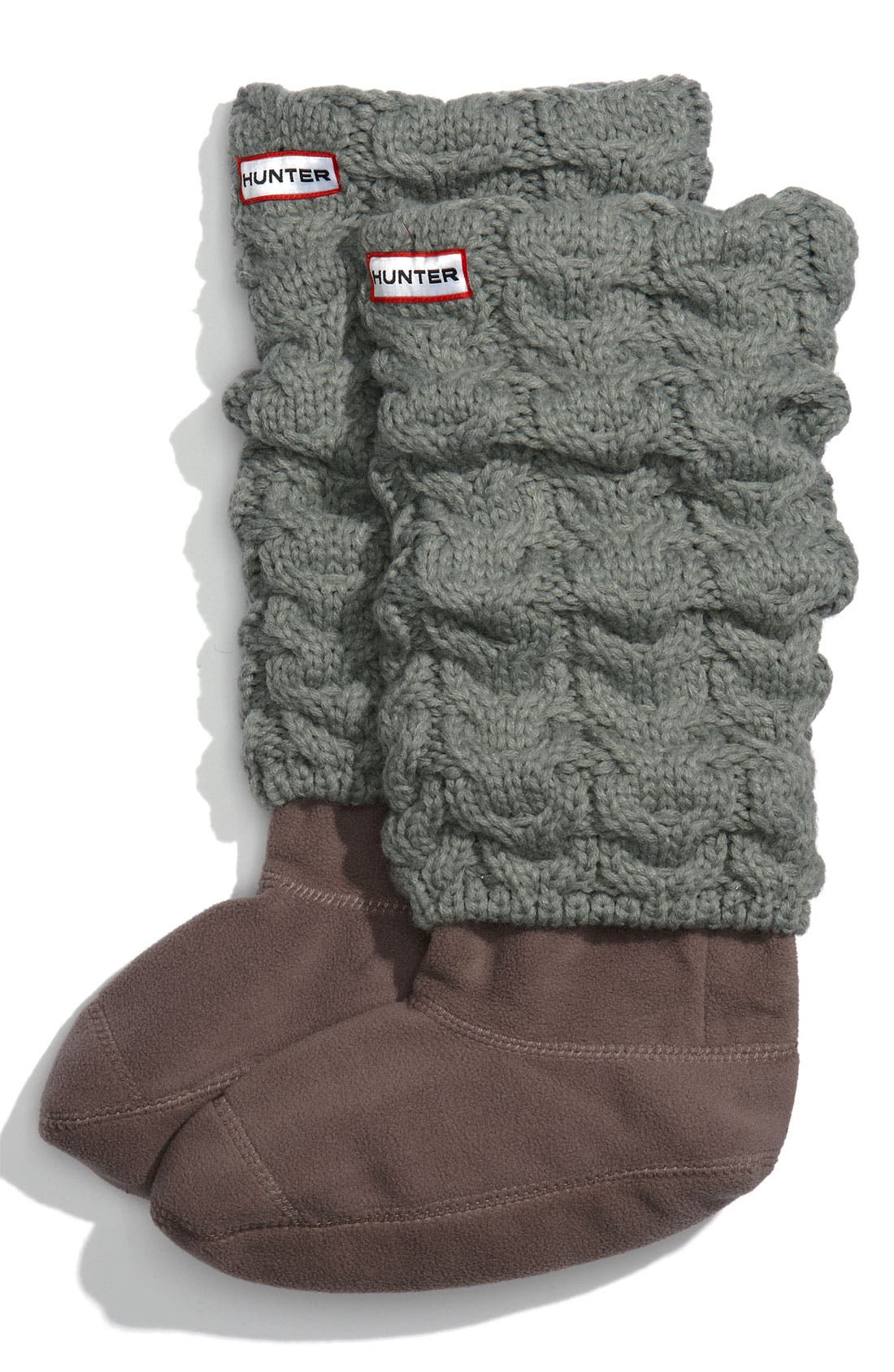 Main Image - Hunter Chunky Cable Socks